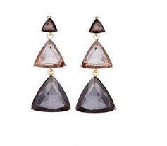 Paper Dolls Triangle Drop Earrings