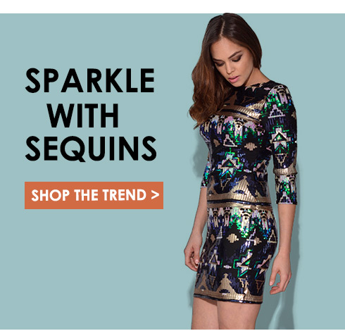 Sequin and Party Dresses