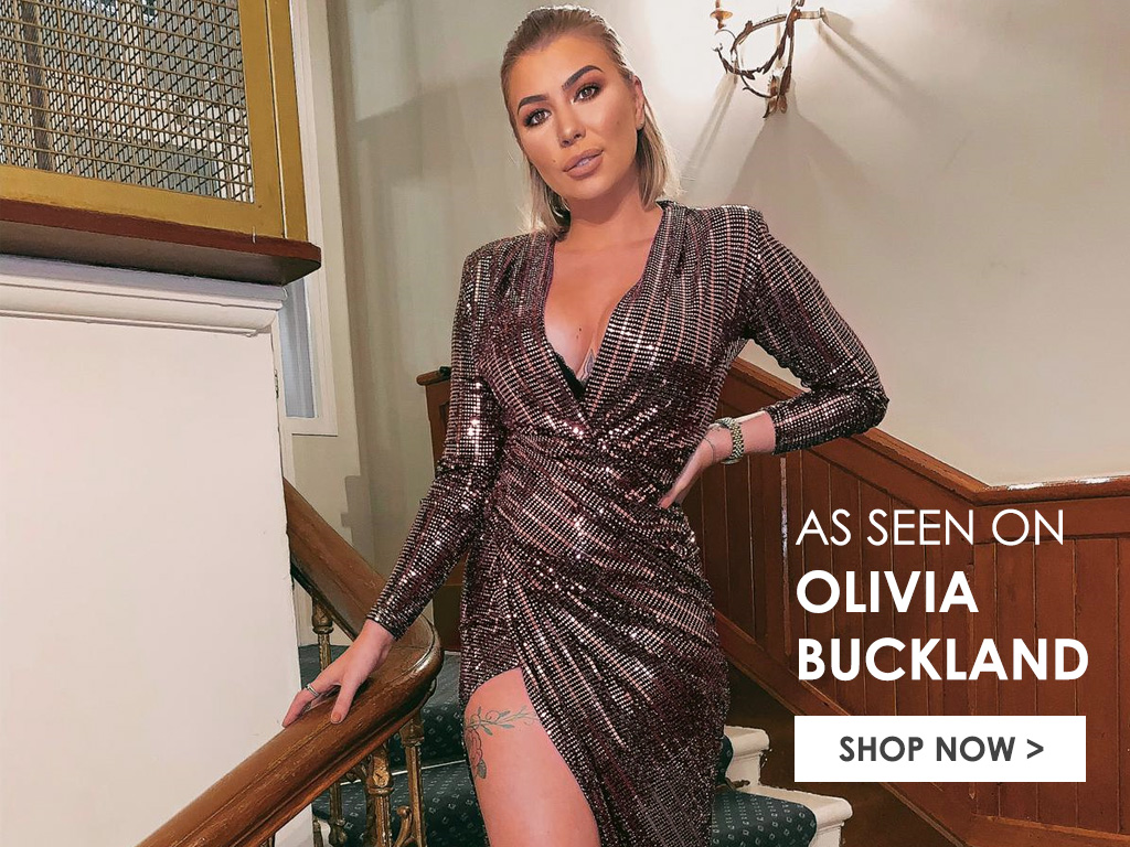 Olivia Buckland in Christmas Party Dress