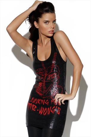 Iron Fist Mr Wongs Sequined Tank