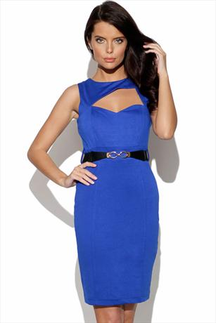 Lauren Pope Cut Out Body Con Dress