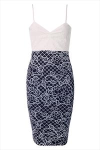 Printed Bodycon Cami Dress