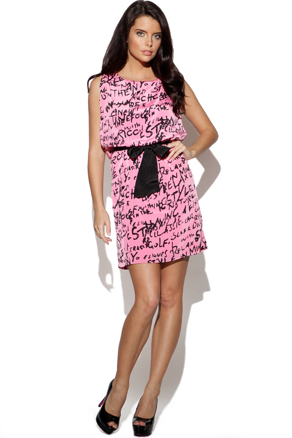 Vila Printed Dress