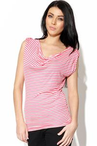 Only Waterfall Stripe Top