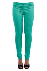 Pieces Foxy Bermuda Green Leggings