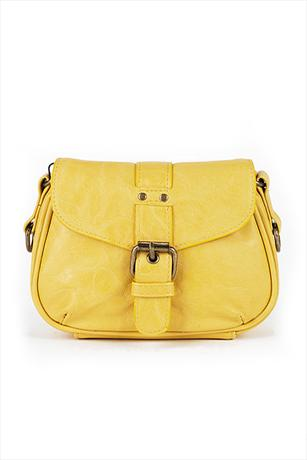Pieces Small Cross Over Bag Yellow