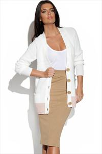 Vero Moda Colour Block Cardigan