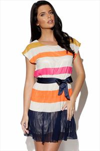 BYoung Striped Dress