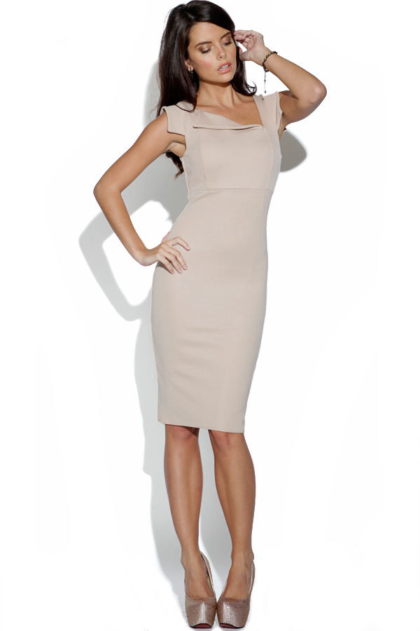 Asymmetric Body Fitted Dress