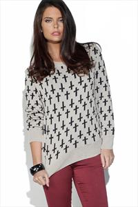Cross Knit Jumper