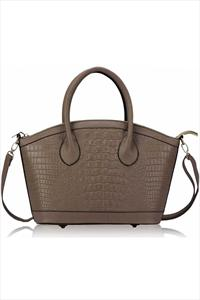 Croc Effect Tote Bag