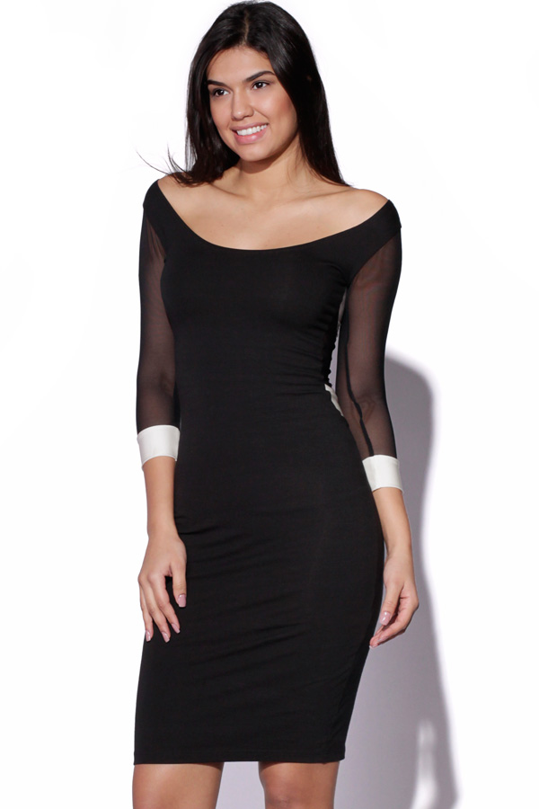 Quontum Midi Panelled Dress