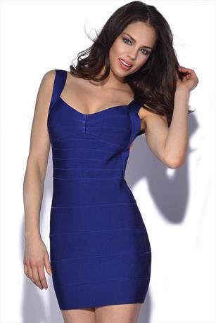 Backless Bandage Dress