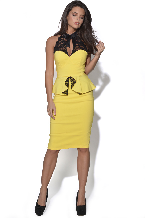 Tempest Becky Peplum Dress