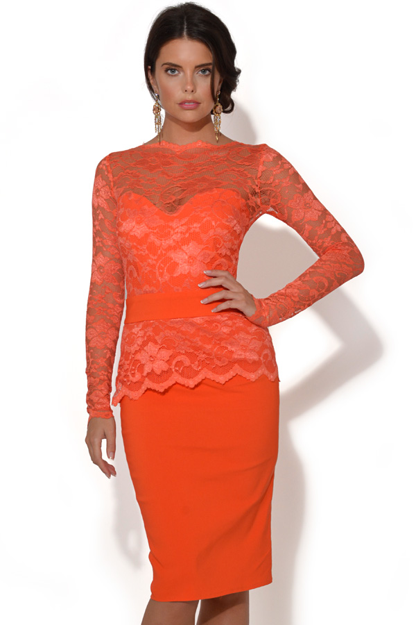 Tempest Billie Lace Midi Dress