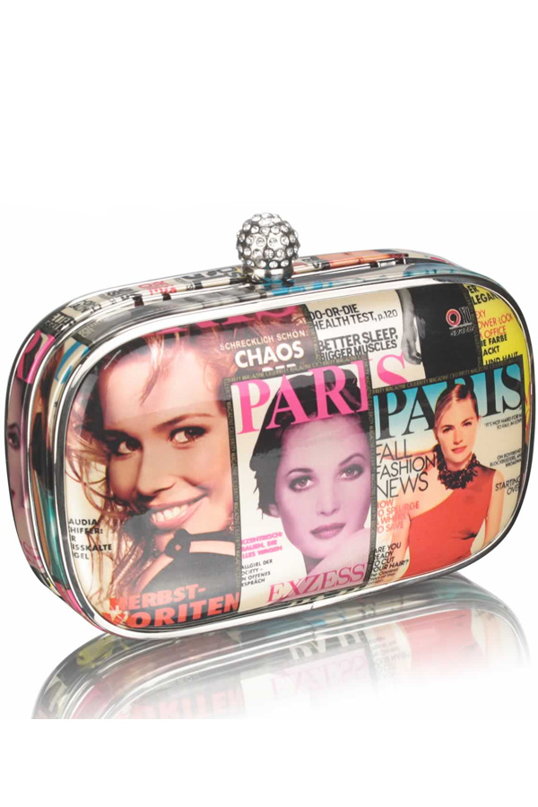 Magazine Clutch Bag