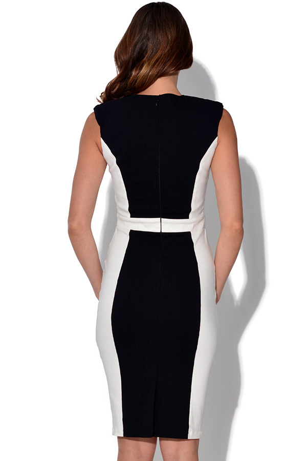 Paper Dolls Contrast Panel Bodycon Dress