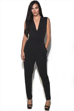 Ultra Flattering Black Jumpsuit