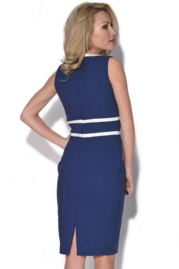 Bow Detail Panel Bodycon Dress