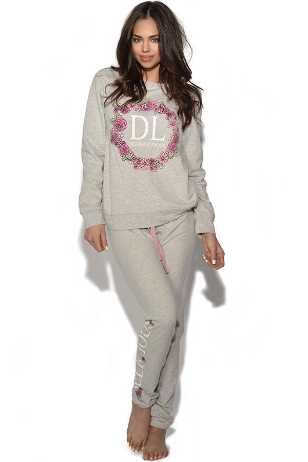 Delicious London Floral Logo Joggers
