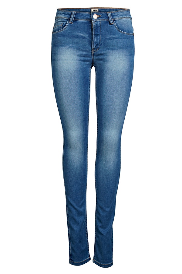 ONLY Ultimate Skinny Mid Blue Jeans