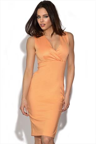 Vesper Cross Over Bodycon Dress