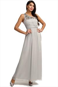 Little Mistress Embellished Maxi Dress