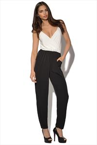 Strappy Monochrome Jumpsuit