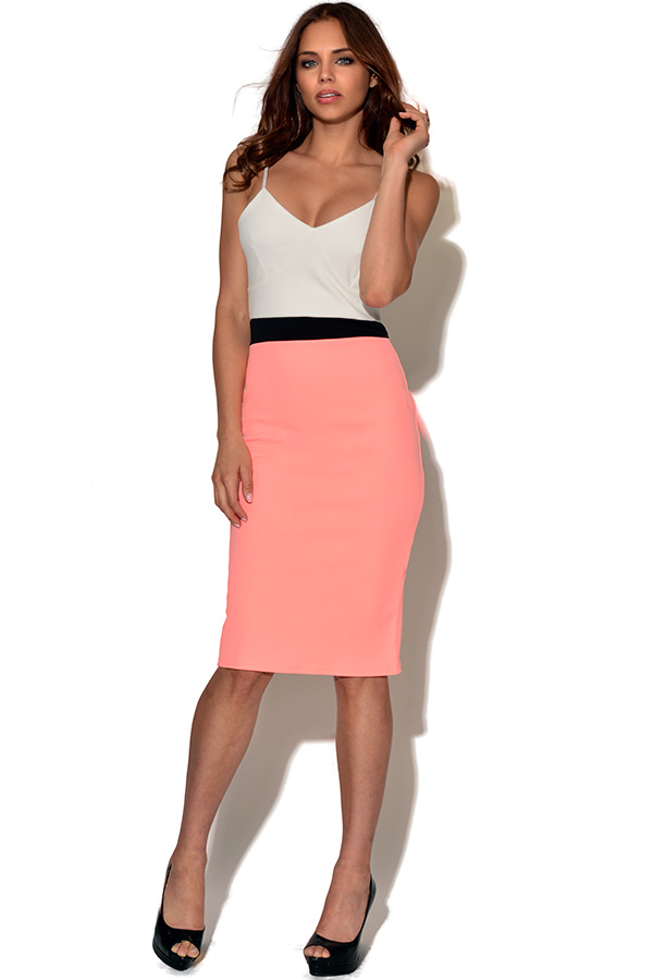 Two Tone Bodycon Dress