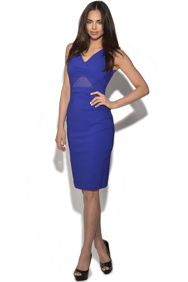 Paper Dolls Mesh Bodycon Dress