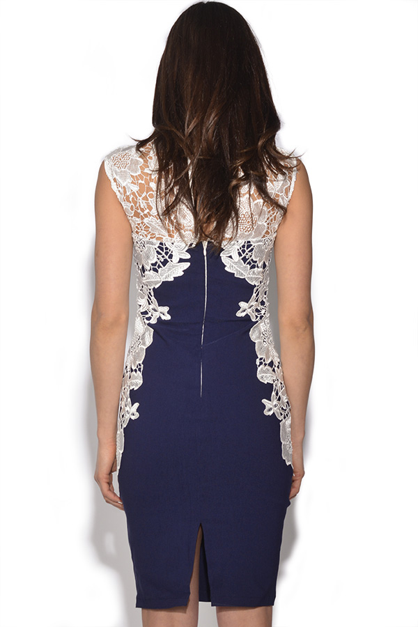 Paper Dolls Mirrored Lace Bodycon Dress