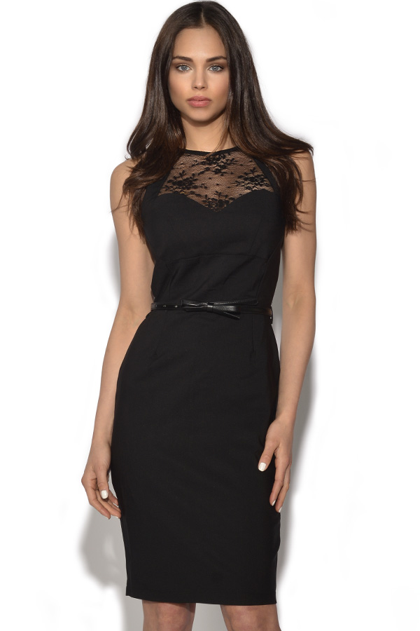 Paper Dolls Lace Sweetheart Bodycon Dress