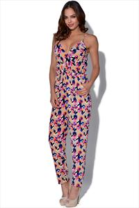 Graphic Printed Jumpsuit