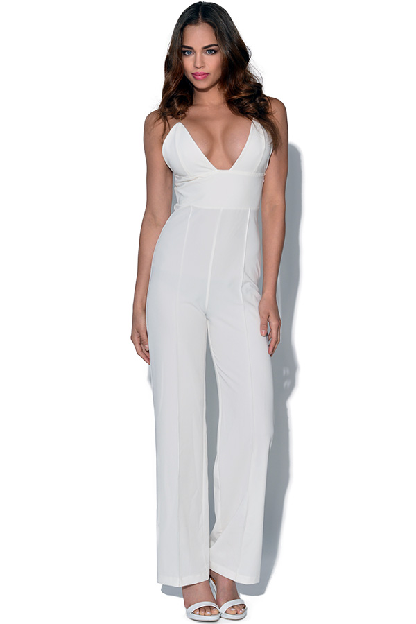 RARE Strappy Cross Back Jumpsuit