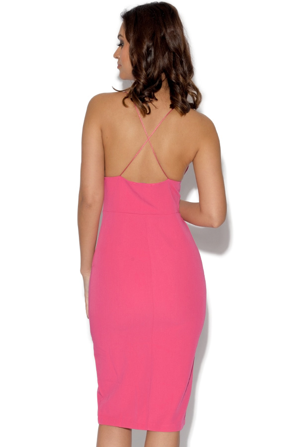 RARE Strappy Cross Back Midi Dress