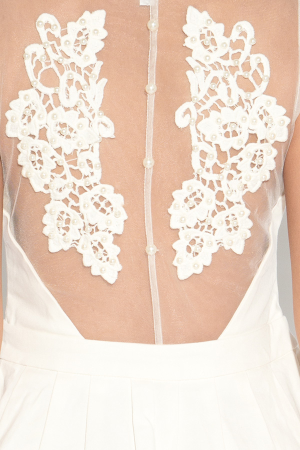 RARE Embellished Back Detail Dress