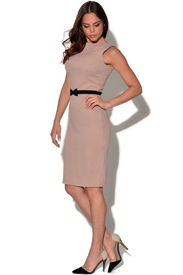 Paper Dolls Lace Band Wiggle Dress