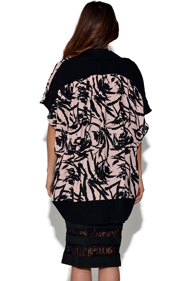 Girls On Film Brushstroke Kimono Jacket