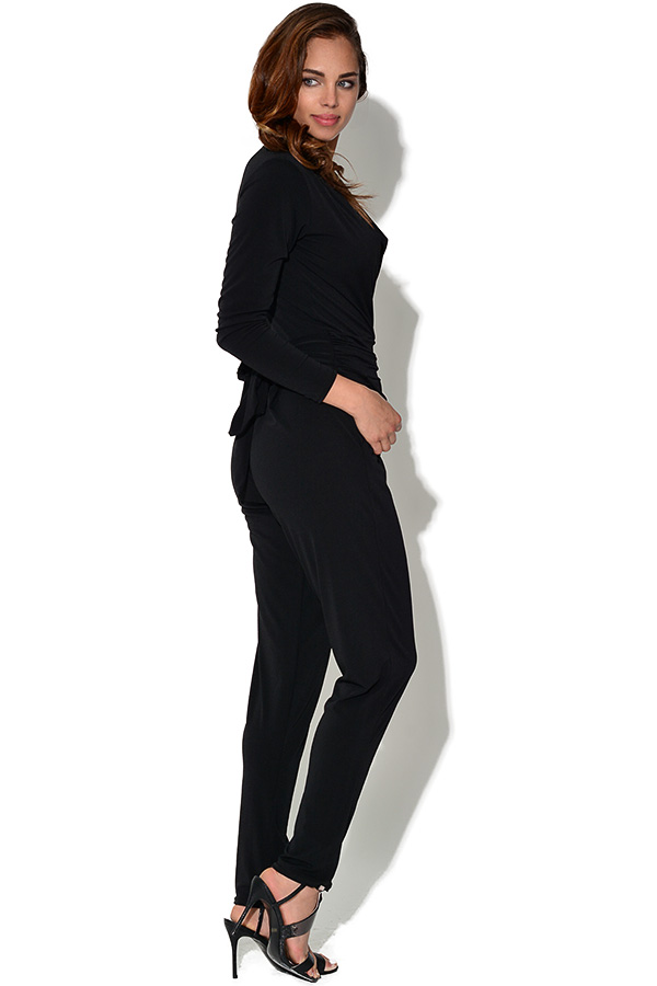 Ultra Flattering Long Sleeved Jumpsuit