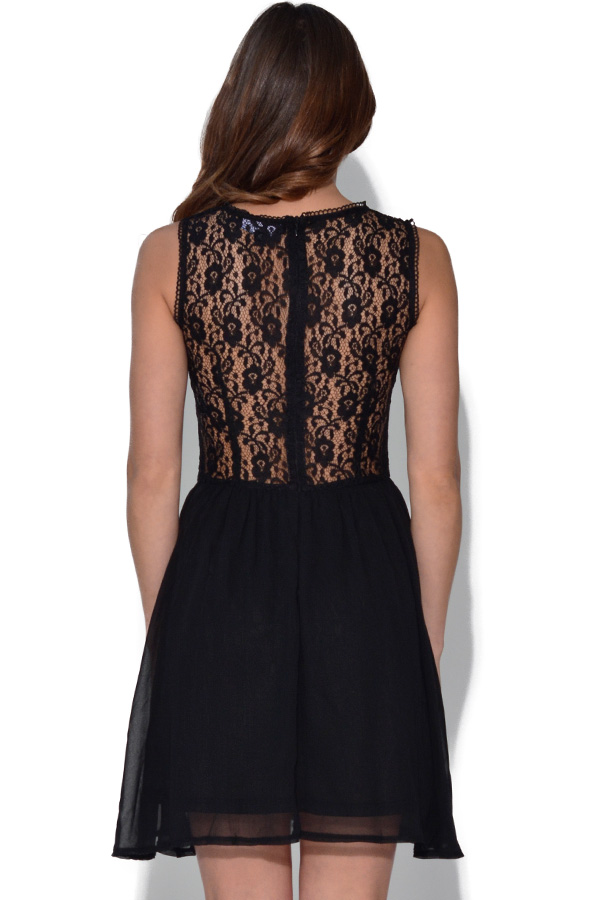 Girls On Film Black Lace Dress