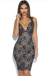 Holt Brie Lace Party Dress