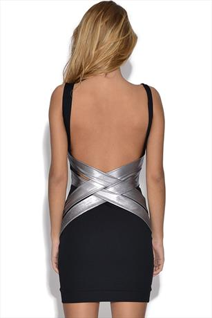 Quontum Strappy Back Dress