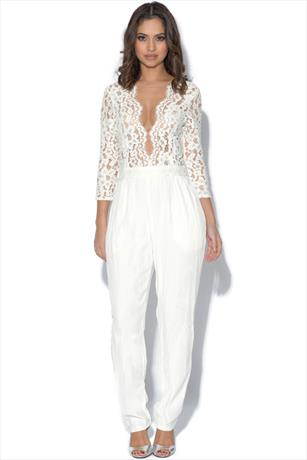 Miss Milne Heart Of Glass Jumpsuit