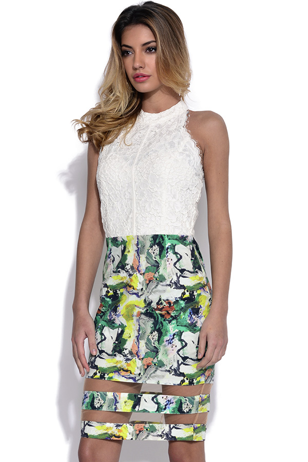 Miss Milne Paros Dress