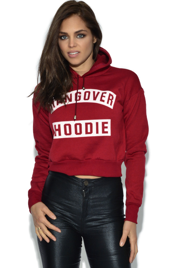 Cropped Hangover Hoodie