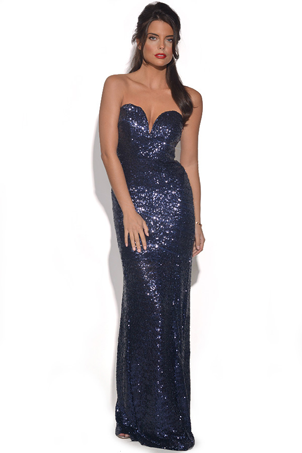 TFNC Sequin Maxi Dress