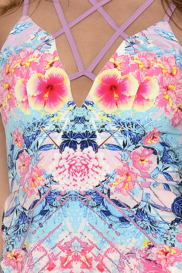 Ginger Fizz Paradise Lost Playsuit