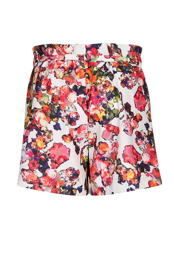 Girls On Film Kaleidoscope Floral Shorts