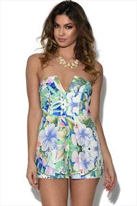 Ginger Fizz Tahiti Playsuit