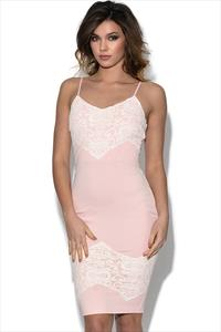AX Paris Crochet Lace Bodycon Dress